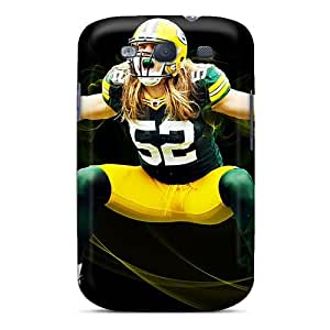 Premium LwSwLWX7391EagiI Case With Scratch-resistant/ Clay Matthews Case Cover For Galaxy S3 by lolosakes