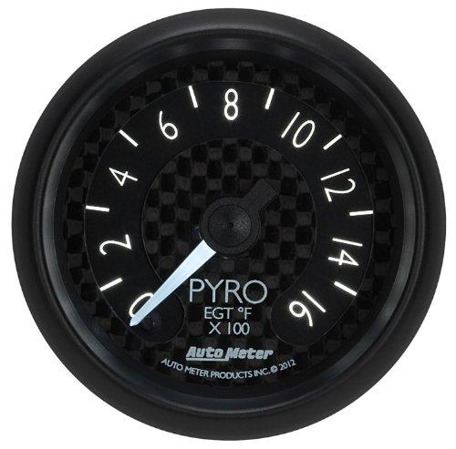 Auto Meter 8044 GT Series Electric Pyrometer/EGT Gauge by Auto Meter (Image #3)
