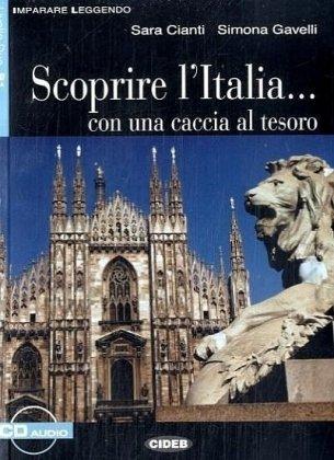 scoprire-l-italia-con-una-caccia-al-tesoro-italienische-lektre-fr-das-4-lernjahr-buch-audio-cd-imparare-leggendo