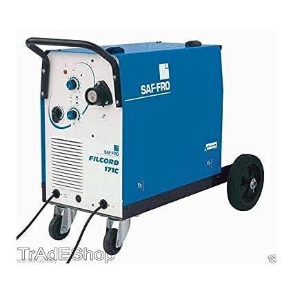 tradeshoptraesio® – Soldador hilo continuo SAF Fro filcord 171 C completa de linterna