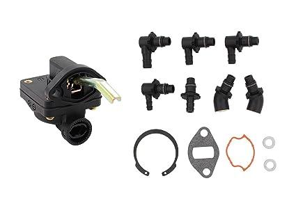 Fuel Pump Kit For Kohler Magnum M18 M20 MV16 MV18 MV20 KT17 KT19 Engine  Tractor Craftsman Lawn Mower Replaces 52 559 01-S 52 559 02 52 559 03-S  Stens