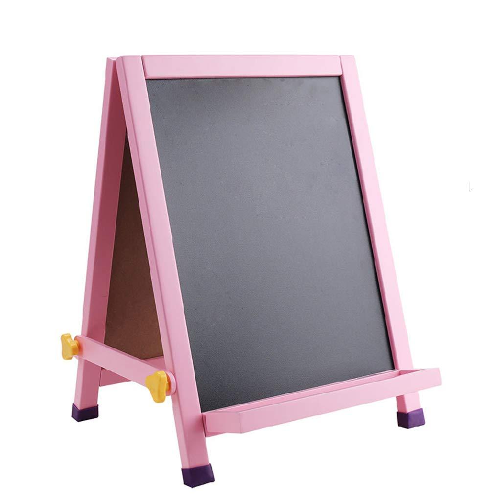 イーゼル両面ドローイングボード子供用デスクトップドローイングボード (サイズ さいず : 40*46cm) 40*46cm  B07RY6X5VD