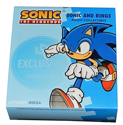 Sonic The Hedgehog Sonic And Rings Exclusive Loot Crate Adult Collectible
