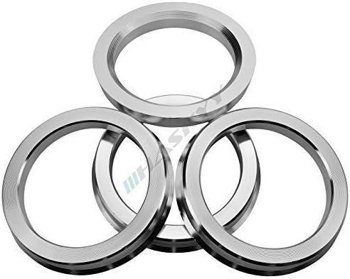 72,6-60,1 4 Anelli Centraggio in Alluminio //// Alluminio in Diverse Misure a Scelta