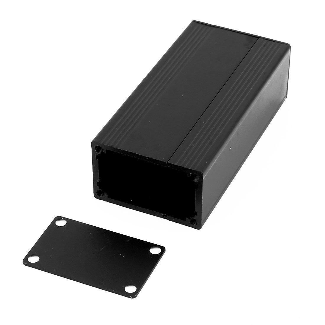 Amazon.com: eDealMax 83 x 40 x 25 mm Polivalente electrónica de aluminio extruido del caso del recinto Negro: Electronics