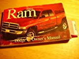 2001 Dodge ram van owners manual