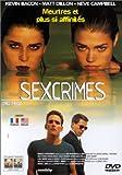 Sexcrimes [Alemania] [DVD]