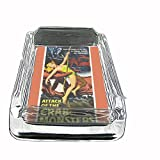 Attack Of The Crab Monsters 1957 Glass Square Ashtray D-316
