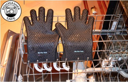 Access *Premium Quality* BBQ Grill Gloves Heat Resistant Protection Silicone Gloves Great for Cooking Barbecue Baking Frying Gripping Smoking and More! FDA Approved and BPA Free, Lifetime Warranty! discount