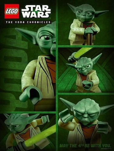 LEGO Yoda Chronicles May the 4th Be with You Poster