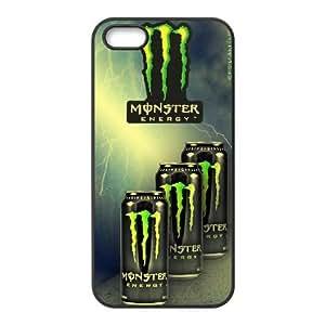 iPhone 5, 5S Case Cell phone Case Monster Energy Vjrw Plastic Durable Cover