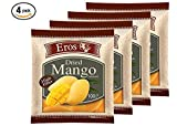 Eros Dried Mango Slices, Naturally Delicious Soft & Juicy Healthy Snacks Freshly Packed from Thailand, 3.53 ounce packs (Pack of 4)