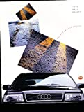 1990 Audi Original Sales Brochure - Coupe Quattro 200 100 80 90 Sport