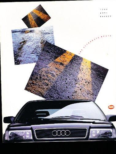 1990 Audi Original Sales Brochure - Coupe Quattro 200 100 80 90 Sport