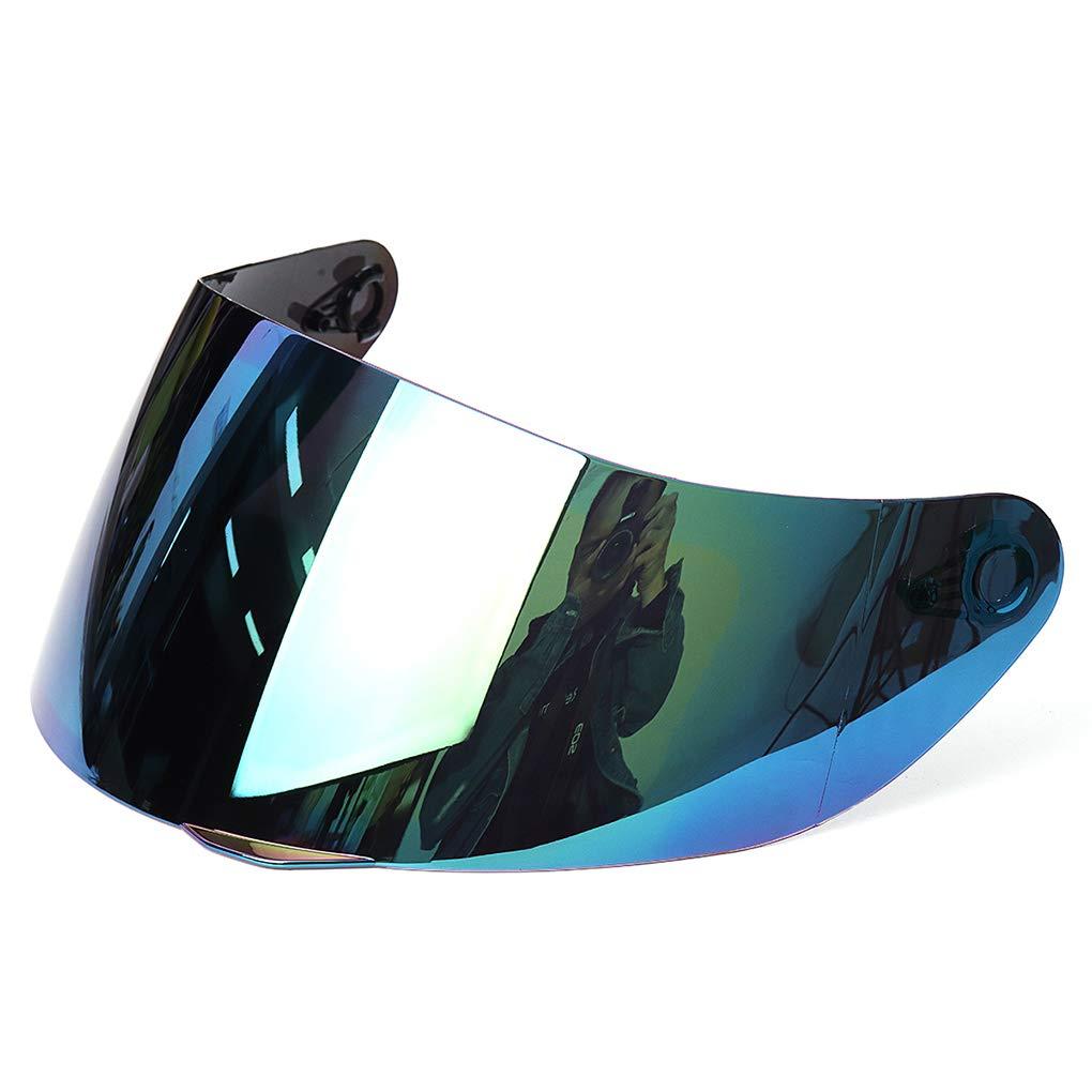 Lorsoul Motorrad-Motocross-Wind-Schild Helm voller Gesichts-Anti-UV-Anti-Fog-Objektiv Visier f/ür 316.902 AGV K5 K3SV Farbe Random