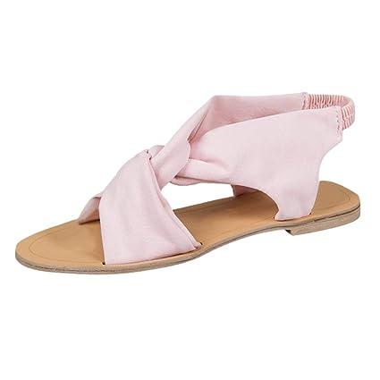700b638b7baaa Amazon.com: Sandals for Women Bummyo Ladies Sandals Women's Flat ...