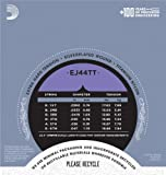 D\'Addario EJ44TT ProArte Dynacore Classical Guitar Strings, Titanium Trebles, Extra-Hard Tension