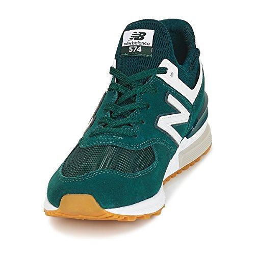 Scarpe ms574 New Basse Sneakers Balance Uomo Verde aarZz