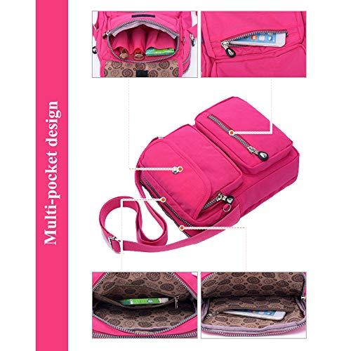 Moda l Design Messenger Borsa Spalla 6062 Sportiva Borsetta Leggero Borsello Borse Gdlxl Donna I Bag A Tracolla Viaggio Exull Sport Sacchetto Libri Tasca Scuola Da qv0gwF