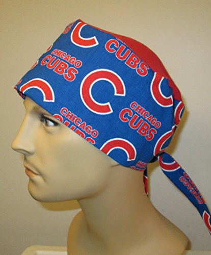 Mens Teens Chicago Cubs Scrub Cap Nurses Hat Chemo Hat cj hats