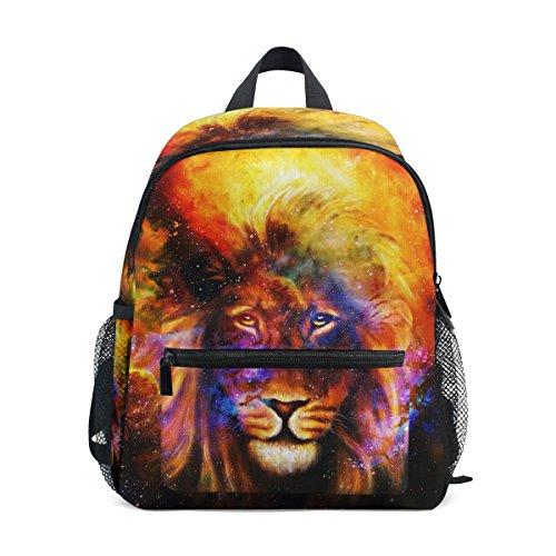 Kids nbsp;Book nbsp;Bag nbsp;Girls nbsp;for Animal nbsp;School nbsp;Backpack Lion Boys nbsp;Toddler Art Colorful ZZKKO w1aqU6Iw