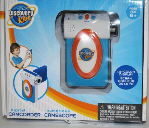 Discovery Kids Digital Camcorder Blue