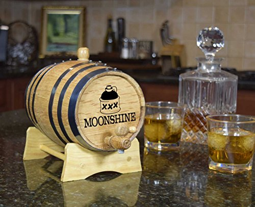 Decorative Moonshine Barrel (B249) by Thousand Oaks Barrel Co.