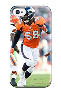 Perfect Von Miller Case Cover Skin For Iphone 4/4s Phone Case