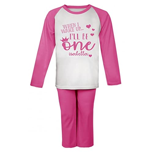 Personalised When I wake up I ll be One Birthday Pyjamas First ... dd5aa5293