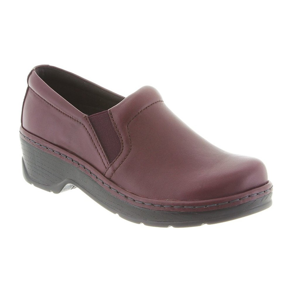 KLOGS Footwear Women's Naples Leather Closed-Back Nursing Clog Klogs USA