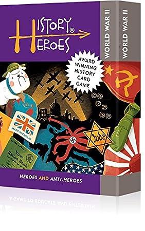 Historia héroes: Guerra Mundial dos juego de cartas: Amazon ...
