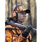 3M Peltor SportTac - Casque anti-bruit - Protection auditive pour la chasse contre les bruits de fusil - Atténuation 26… 14