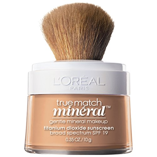 L'Oréal Paris Makeup True Match Loose Powder Mineral Foundation, Buff Beige, 0.35 oz.