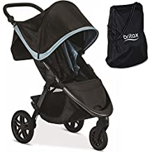 Britax B-Free Stroller, Frost With B-Free Travel Bag