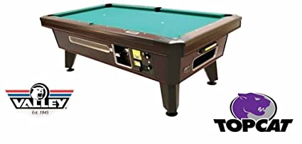Amazoncom Valley Coin Op Top Cat Pool Table Sports Outdoors - United billiards pool table coin operated