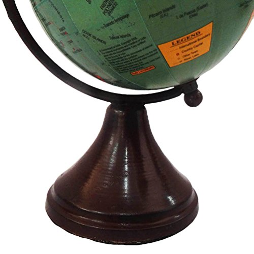 Handmade globe world map round shape 4 green ball globe home dcor handmade globe world map round shape 4 green ball globe home dcor plastic stand plastic tall standing table topper price tracking price alert price gumiabroncs Images