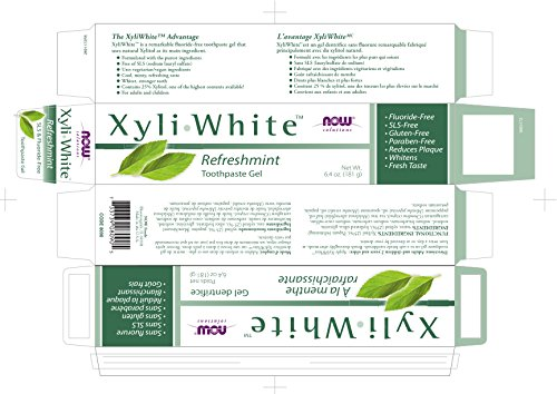 Now Foods: Xyliwhite Refreshmint Toothpaste Gel, 6.4 oz 2...
