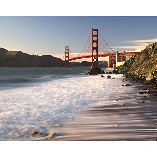 Gates Sunset (8x10 San Francisco Photo Print -