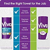 Viva Signature Cloth Choose-A-Street Paper Towels, Soft & Strong Kitchen Paper Towels, White, 6 Value Rolls