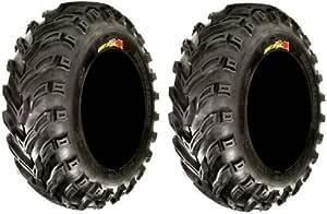 2 25x12-10 ATV Tires 6ply Pair of GBC Dirt Devil