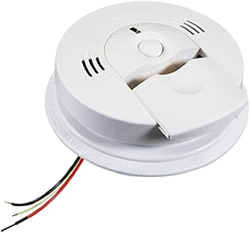 Kidde – 21006377 – AC Wire-In Combination Carbon Monoxide Smoke Alarm