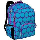 Wildkin Big Dots Macropack Backpack, Aqua