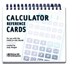 Calculator Reference Cards for the Casio fx-260