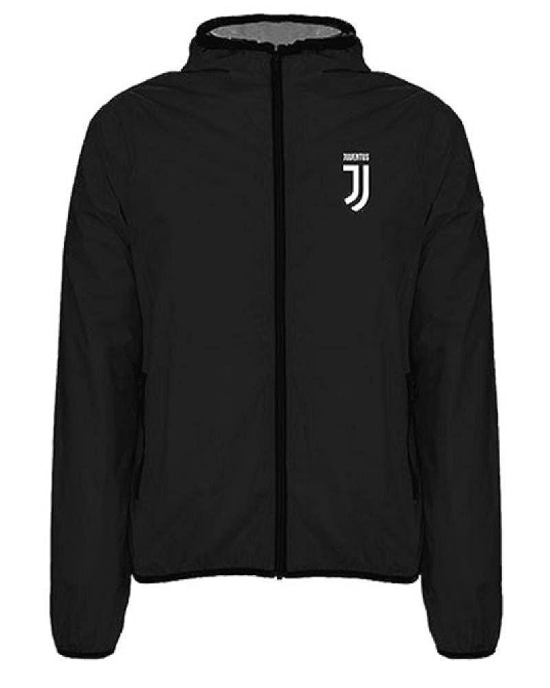 OfferSrl Giacca Juventus Bambino Antivento WindJacket Juve Nero PS 22370