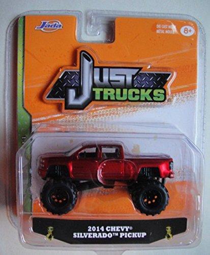 Just Chevy Trucks >> Amazon Com Jada Just Trucks 1 64 Scale Red 2014 Chevy