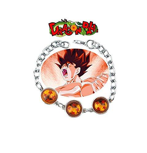 Outlander Gear Dragonball Z Crunchyroll Anime Charm Link Bracelet With Gift Box from -