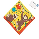Bargain World Curious George Luncheon Napkins (With Sticky Notes)