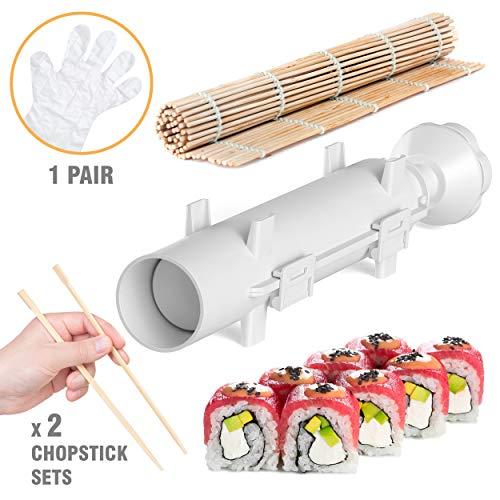 Sushi Bazooka - Sushi Making Kit - Sushi Maker - Sushi set - Sushi Maker Machine - Sushi gift set - Bazooka Sushi - Japanese Sushi Making Kit - Sushezi roller Prepare Sushi at Home