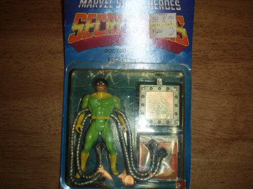 Secret Wars Doctor Octopus and his secret shield Mattel 1984 (Wars Mattel Secret)