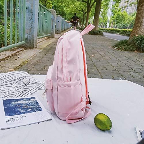 Moda Casual zainetto Zainetto Pu Donna borse Zaino zaini Da A Per Casual Rosa Mano E borsa borse borsa Zainetti In Donna Pelle Spalla Eleganti Spalla zaini xwZqAZUan